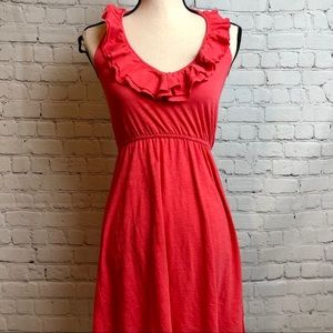 Express Ruffle Halter Dress